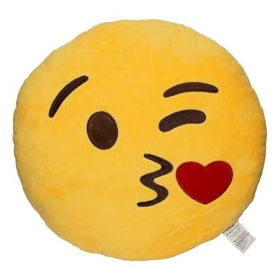 Smiley Emoji Plush Pillow