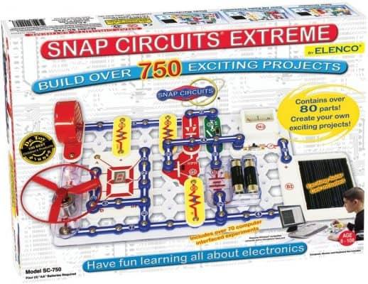 Snap Circuits Extreme SC-750 Electronics Exploration Kit
