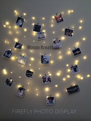 Mason FireFly Lights Silver Wire