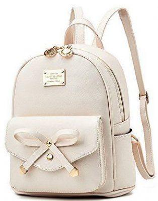 Fayland Women Teens Girls Leather Backpacks