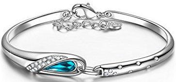 White Gold Plated Bracelet