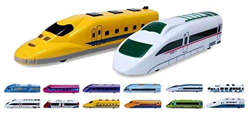 PowerTRC Fun Mini Pull Back Toy Train for Kids