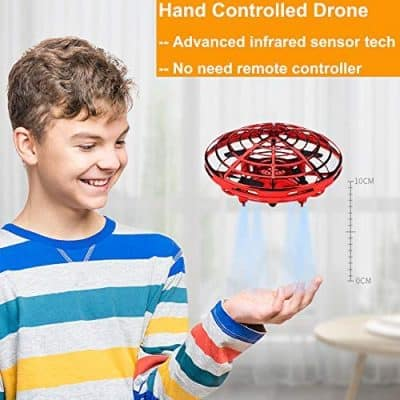 BOMPOW Hand Controlled Mini Drones for Kids