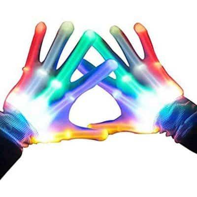 Top Toy Flashing LED Gloves