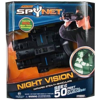 Spy Net Infrared Stealth Binoculars With Night Vision