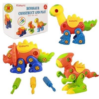 Kidtastic Dinosaur Toys Building Play Set