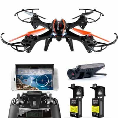 DBPOWER Predator U842 WIFI RC Quadcopter Drone with HD Camera