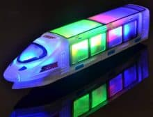 WolVol 3D Lightning Electric Train Toy for Kids