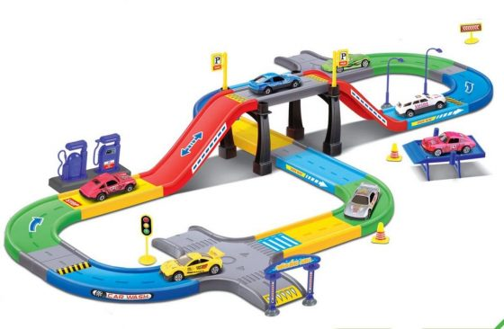 Liberty Imports My First Speed Racing Assembly Playset