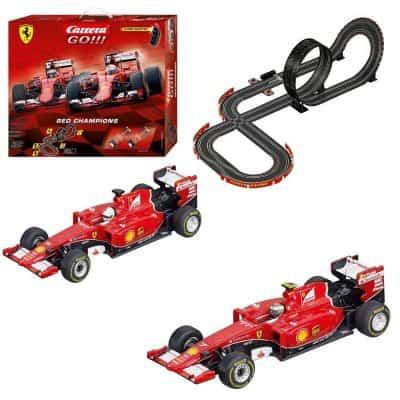 Carrera GO!!! Ferrari Red Champions Slot Car Race Track