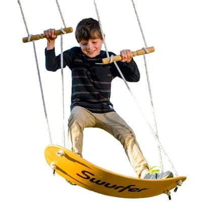Swurfer The Original Tree Swing with Skateboard Seat Design