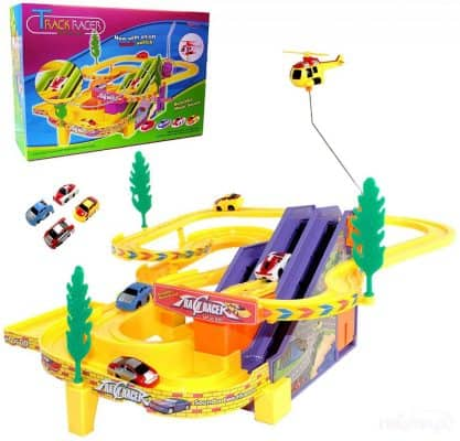 Haktoys Authentic Track Racer PlaySet with Music