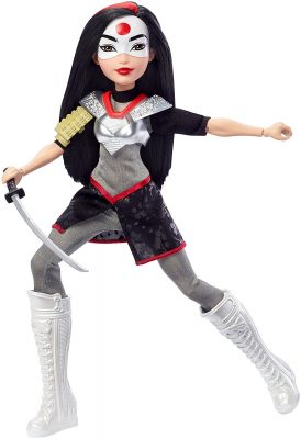 "DC Super Hero Girls Katana Action 12"" Figure Doll"