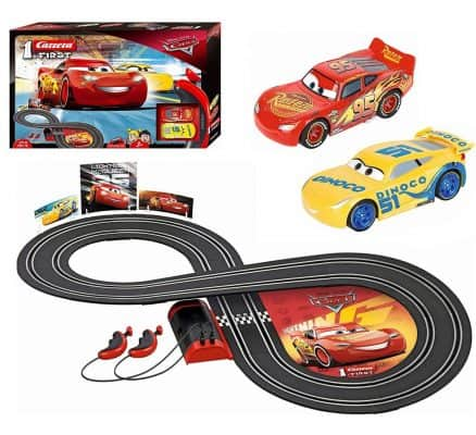 Carrera First Disney/Pixar Cars 3 - Slot Car Race Track