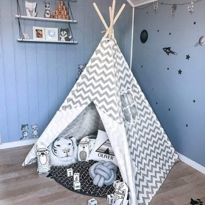 Tiny Land Teepee Tent Children Play Tent