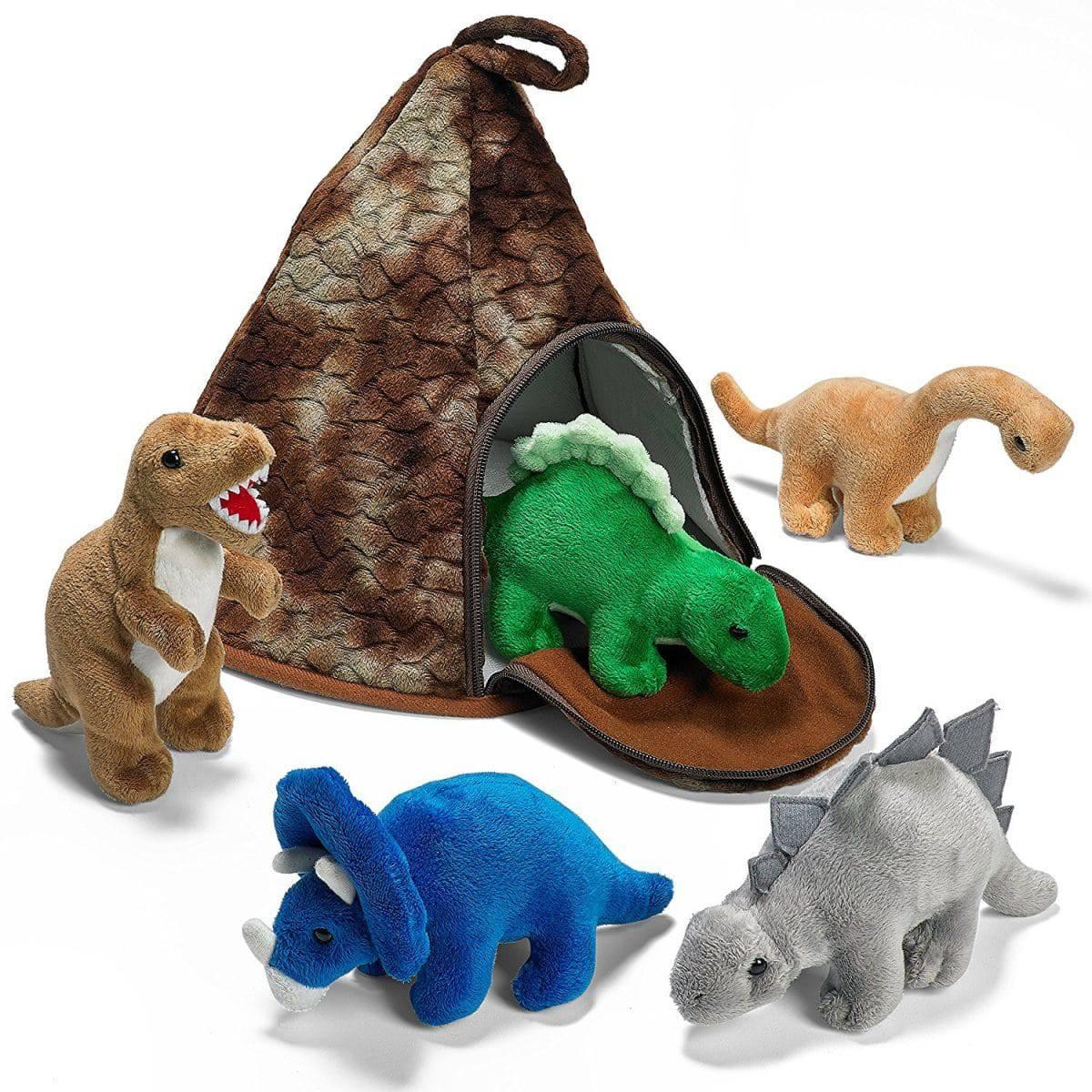 Kids Dinosaur Truck Play Set Animal Figures Toys Toddler Boy Gift Pretend New