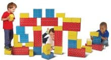 Melissa & Doug Jumbo Extra-Thick Cardboard Building Blocks
