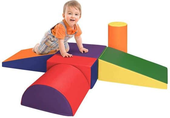Dream Tree Crawl and Climb Soft Foam Blocks