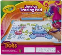 Crayola Trolls Light-Up Tracing Pad