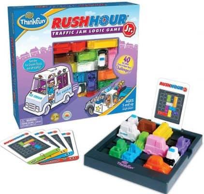 ThinkFun Rush Hour Junior Traffic Jam STEM and Logic Game Toy