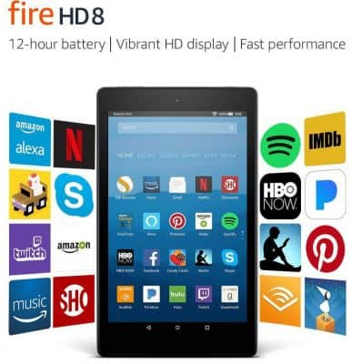 Fire HD 8 Tablet with 8in Alexa HD Display