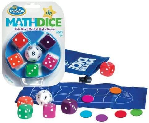 ThinkFun Math Dice Junior Game