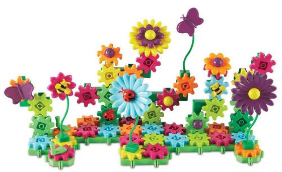 Learning Resources Gears- Build and Bloom Building Set