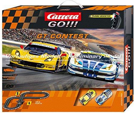 Carrera GO!!! GT Contest - Slot Car Race Track Set