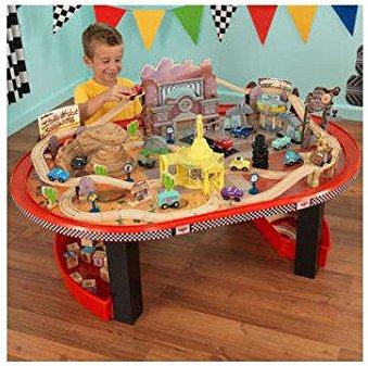 KidKraft Disney Cars Radiator Springs Race track Set and Table