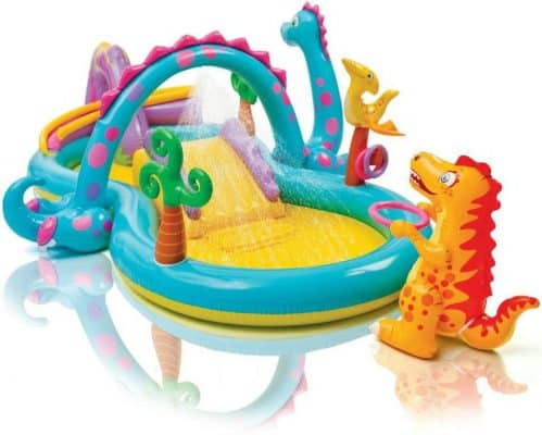 Homelux Inflatable Dinoland Play Center