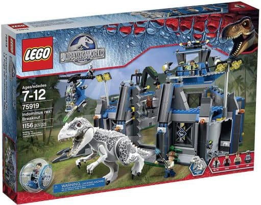 LEGO Jurassic World Indominus Rex Building Kit