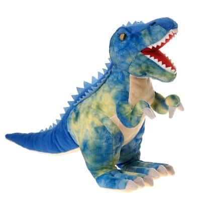 Fiesta Toys Blue T-Rex Plush Stuffed Animal