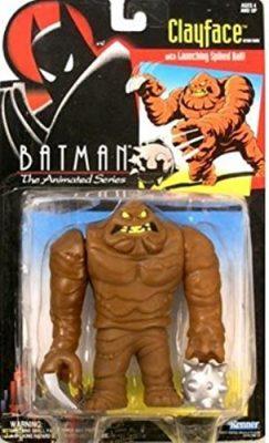 Batman Animated Clay Face Action Figure