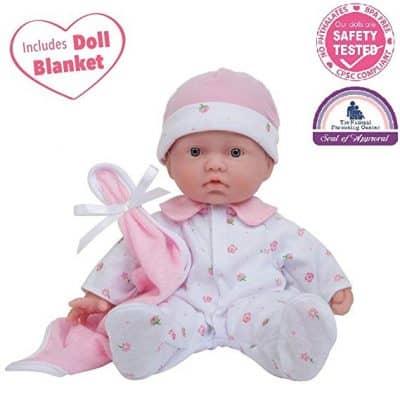 JC Toys La Baby 11-inch Play Doll
