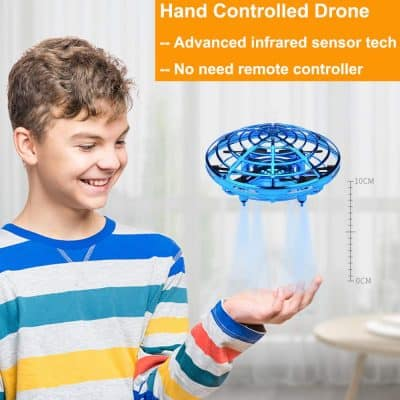 BOMPOW Flying Toys Drones for Kids
