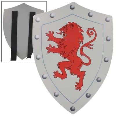 Rampant Lion Valor Medieval Battle Foam Shield