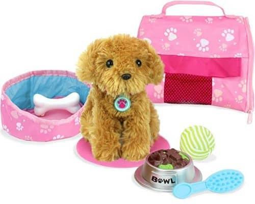 Sophia's Doll Pet, Golden Puppy & Accessories Set