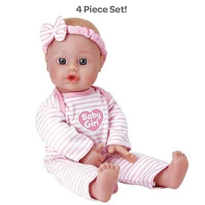 Adora Sweet Baby Girl Doll Washable Soft Body