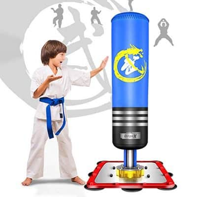 Dripex Adult & Kids Freestanding Punching Bag Heavy Boxing Bag