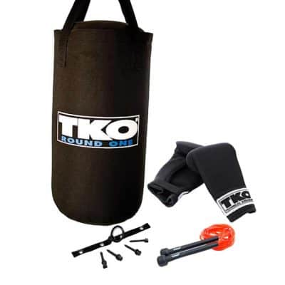 TKO 4 Piece All Purpose Heavy Bag Set for Children