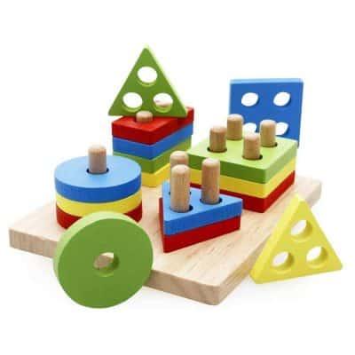 Rolimate Wooden Educational Preschool Geometric Sorter