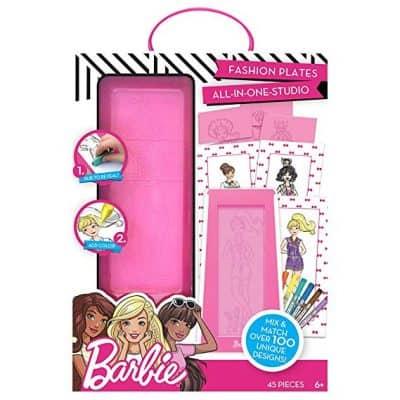 Barbie by Horizon Group USA Fashion Plate Kit