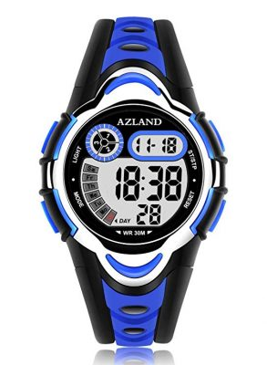 AZLAND Digital Frozen Sports Watch