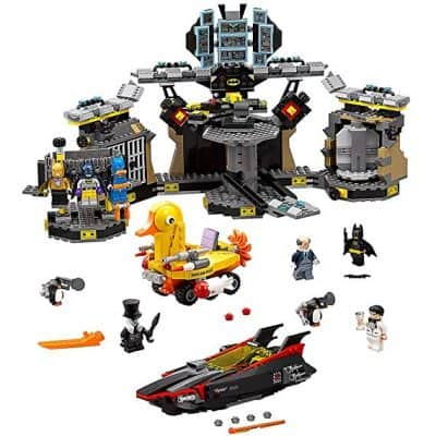 The Lego Batman Break-in Super Hero Toy From The Batcave Movie