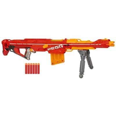 Nerf Centurion Mega Toy Blaster with Folding Bipod