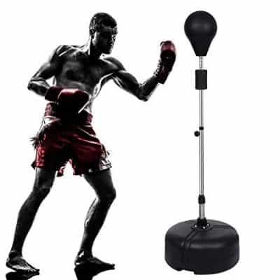 Anfan Reflex Bag Free Standing Boxing Speed Punching Bag