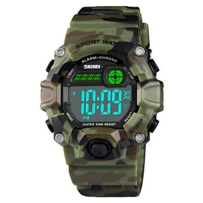 Camouflage LED Digital Sport Watch