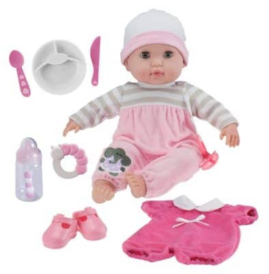 "JC Toys Berenguer Boutique 15"" Soft Body Baby Doll"