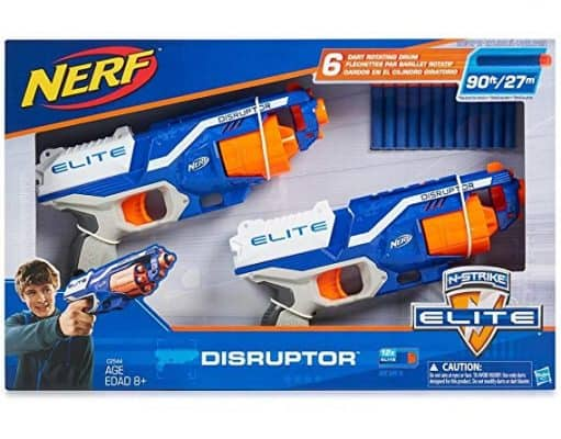 Nerf N-Strike Elite Disruptor 6 Dart Rapid Fire Nerf Gun Blaster