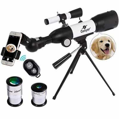 Gskyer Travel Refractor Telescope for Kids